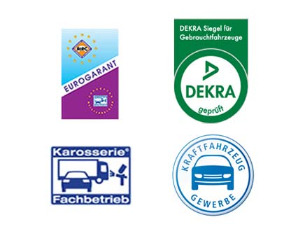 Autohof Kosmalla own a certification of Eurogarant and is also a DEKRA tested company for vehicle bodies