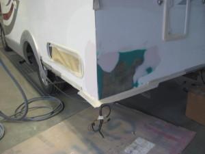 Unfallreparatur Wohnmobil