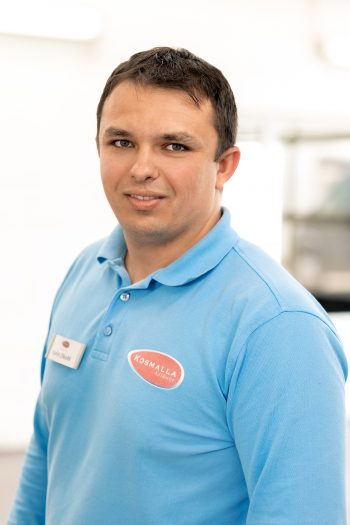 Rafet Zikolli (Serviceassistent/Kundenberater)