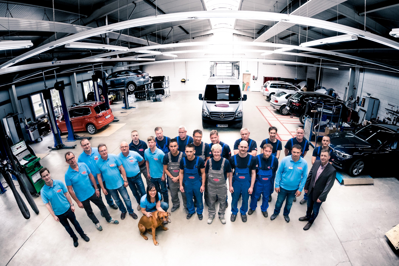 Das Team des Autohof Kosmalla's