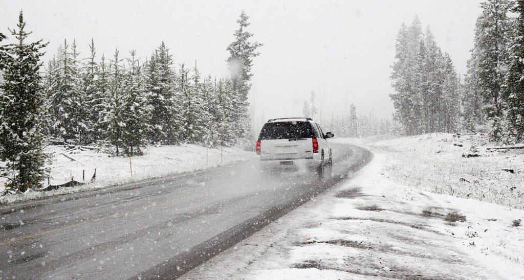 Autofahren bei Schnee